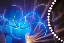 Spectacle de Jongleurs Lumineux LED
