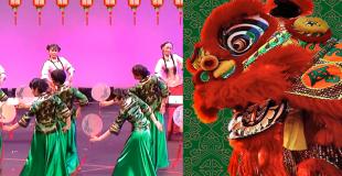 Spectacle de variété chinois