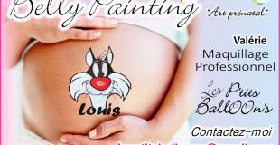 Belly Painting - art prénatal