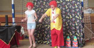 Nous faisons danser les enfants