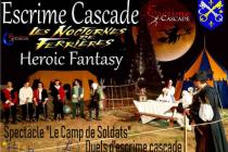 Escrime Cascade. Frédéric Trin