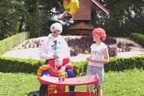 picolus, picolette et leur chariot