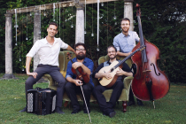 groupe de jazz manouche en quartet
