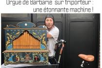 Marcel orgue de Barbarie spectacle de rue