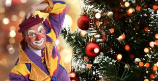 Spectacle de clown pour arbre de Noël