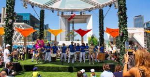 fanfare percusionnistes batucada Les Danseuses d'Or