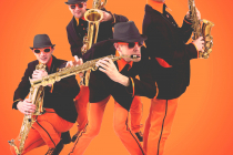 quatuor sax fanfare saxophone quartet wim percussion compagnie