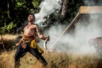 cieookai, spectacle médiéval