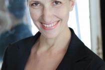 Portrait de la comédienne Rachel Ruello