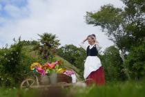 La petite jardinière et sa brouette