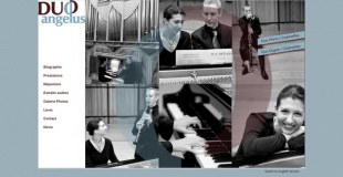 duo Angzlus . piano / orgue - clarinettes