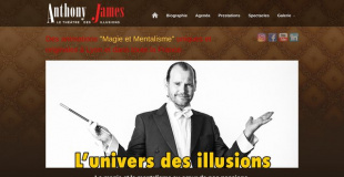 Anthony James illusionniste magicien