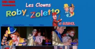 Clowns Roby et Zoletto