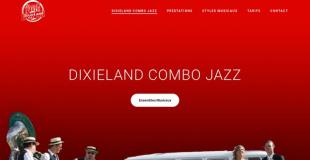Dixieland combo jazz