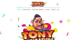 Tony Caricature