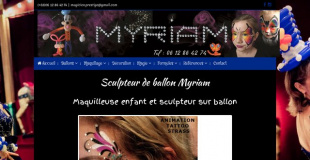 Myriam, Sculpteur de ballon, Magicienne